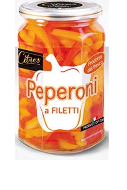 Peperoni a filetti citres