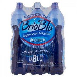Acqua Rocchetta Brio Blu leggermente frizzante