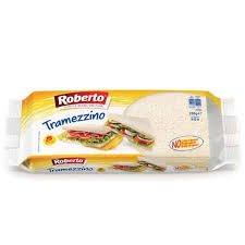 Pane bianco da tramezzino 250gr