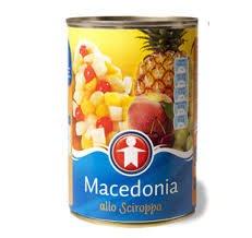 Macedonia sciroppata 290gr