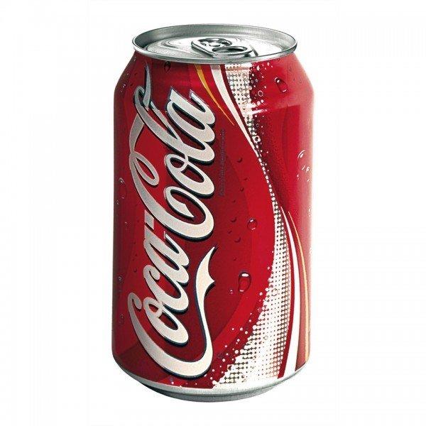 Coca Cola lattina 0.33 cl